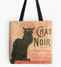 Le chat noir Manifesto Tote Bag