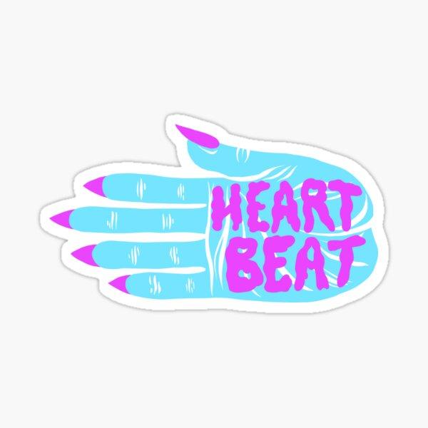 Heartbeat Palm Sticker