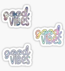 Good Vibes 3 Pack Sticker