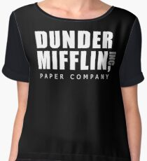 The Office Dunder Mifflin Women's Chiffon Top