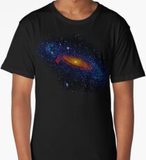 Meanwhile, somewhere in the Universe... Long T-Shirt