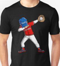 Baseball Dabbing T-Shirt Funny Dab Dance Shirts Boys Girls Gifts Unisex T-Shirt