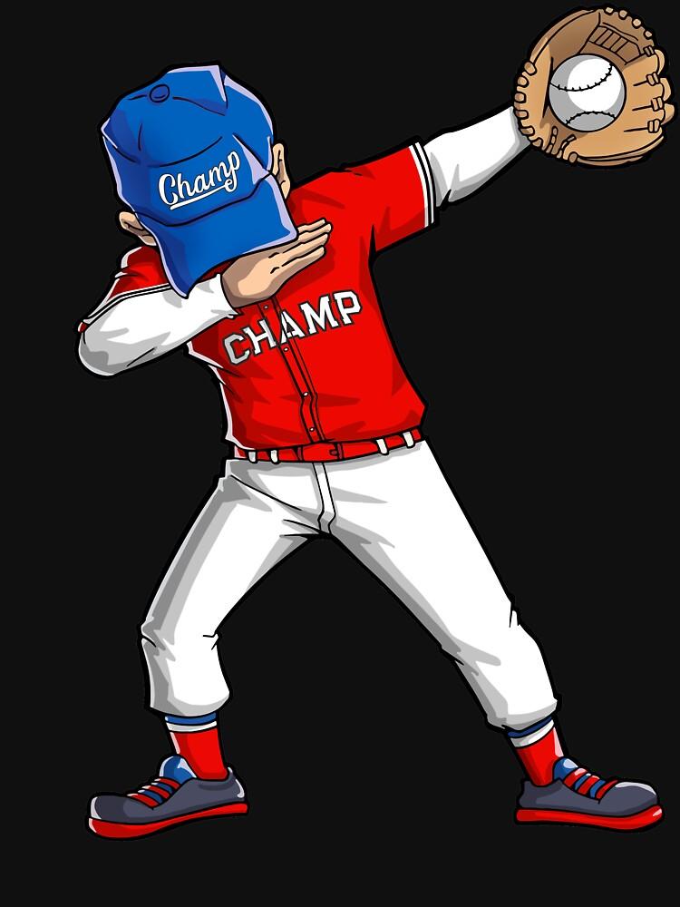 Camisetas clásicas «Camiseta de béisbol Dabbing Camiseta de baile ...