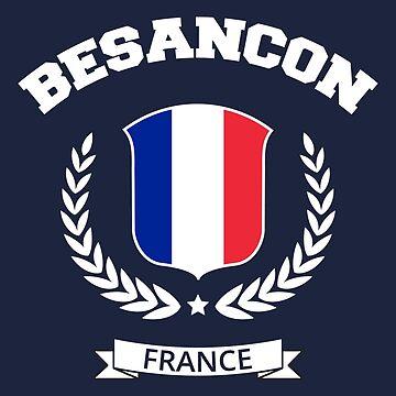 Besançon France T-Shirt by SayAhh