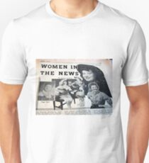 Women, In the news, 50's, country, c & w, hillbilly, music T-Shirt