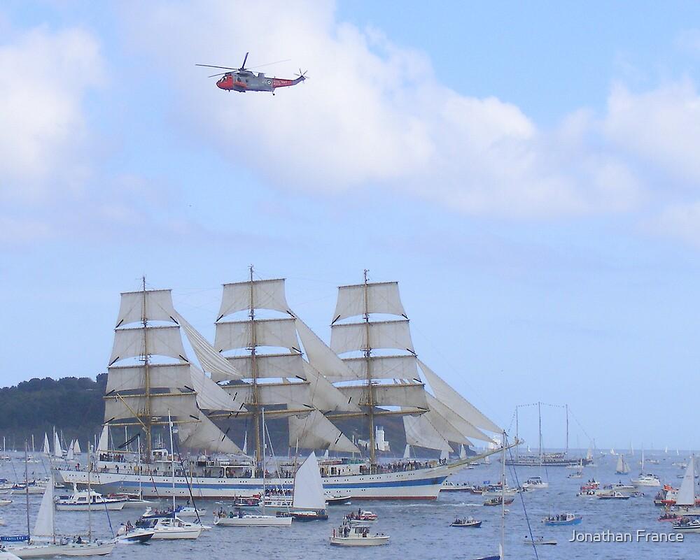 Falmouth Tall Ships 2 by Jonathan France