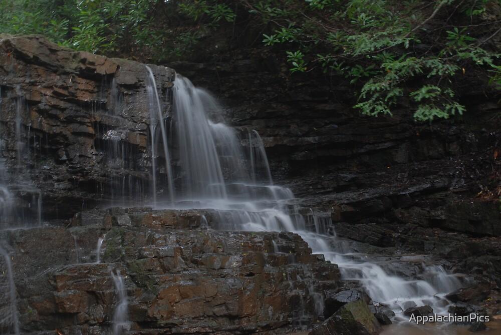 Laurel Run Falls by AppalachianPics