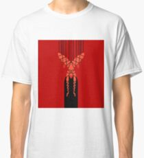 Shibari Bondage hängendes Mädchen Classic T-Shirt