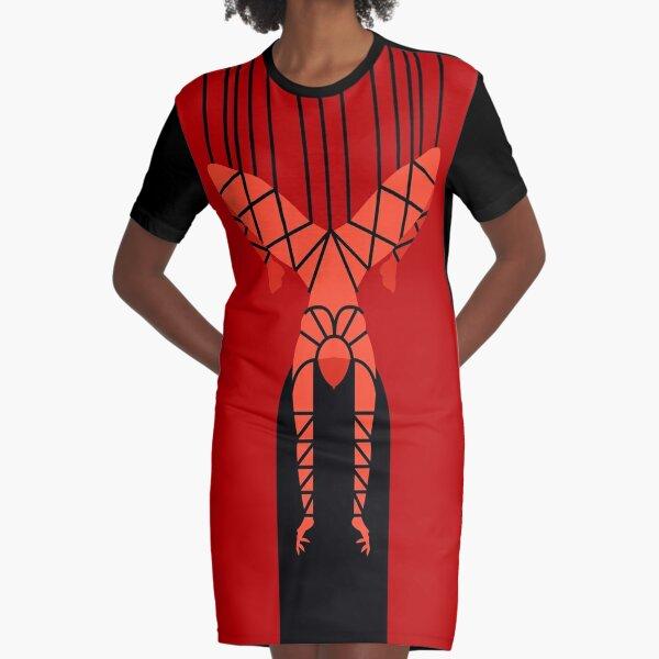 shibari bondage hanging girl Graphic T-Shirt Dress