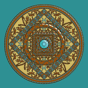 Pisces Mandala by ValerieDesigns