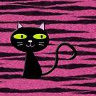 tiger kitty by poupoune