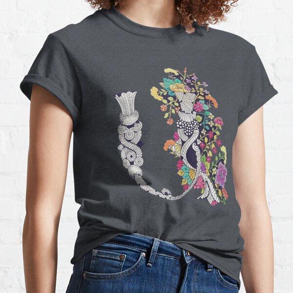 Armenian Letter A (flower) Classic T-Shirt