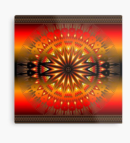 Fire Spirit Metal Print