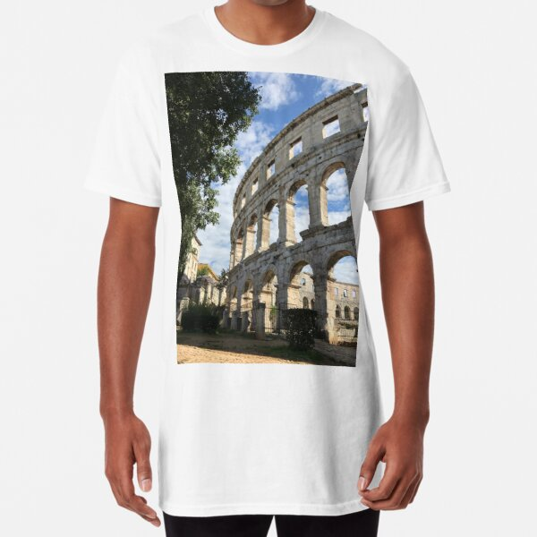 Croatia - Amphitheatre Long T-Shirt