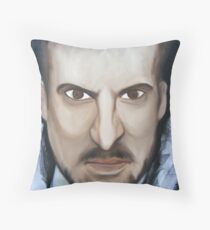 Evil Derren... Throw Pillow