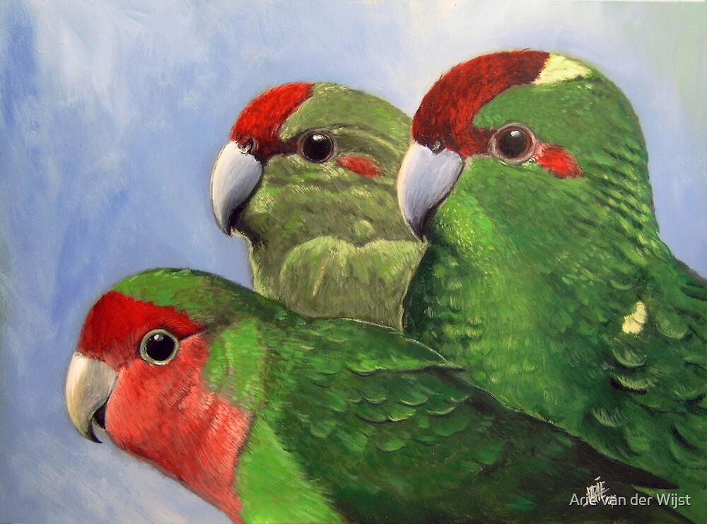 Three Friends by Arie van der Wijst
