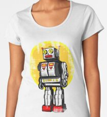 RETROBOTS Women's Premium T-Shirt