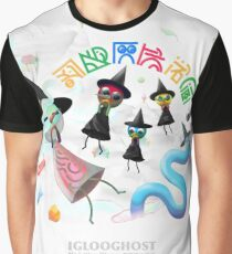 Iglooghost - Neo Wax Bloom Graphic T-Shirt