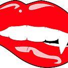 Vampire Lip Bite by EthosWear