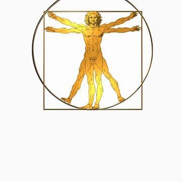 Vitruvian Man by 3000ad
