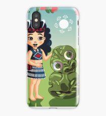 Poi, Haka and Friendly Tiki iPhone Case/Skin