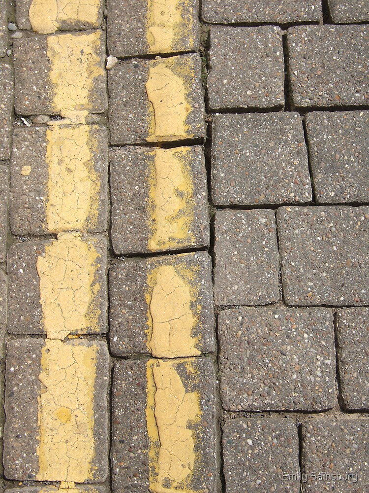Follow the Yellow Brick Lines by Emily Sainsbury
