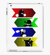 Choose your smash fighter!!! iPad Case/Skin