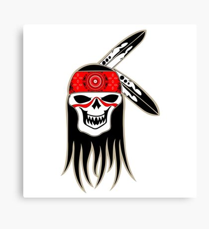Skull Spirit  Canvas Print