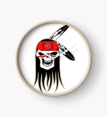 Skull Spirit  Clock