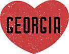 Universität von Georgia Heart von its-anna