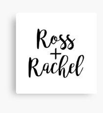 Ross and Rachel   Friends   Cult TV Canvas Print