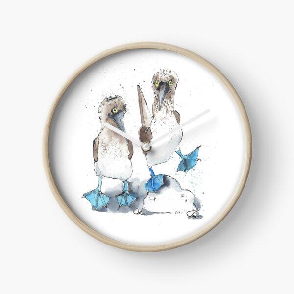 Dancing Boobies! Clock