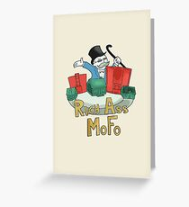 Rich Ass Mofo Greeting Card