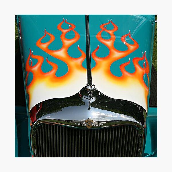 Flames Photographic Print