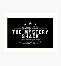 Gravity Falls - The Mystery Shack Art Print