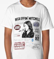 Beca Mitchell - Pitch Perfect - Anna Kendrick - Bechloe Long T-Shirt