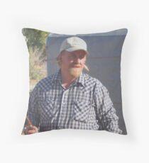 redneck ear plugs Throw Pillow