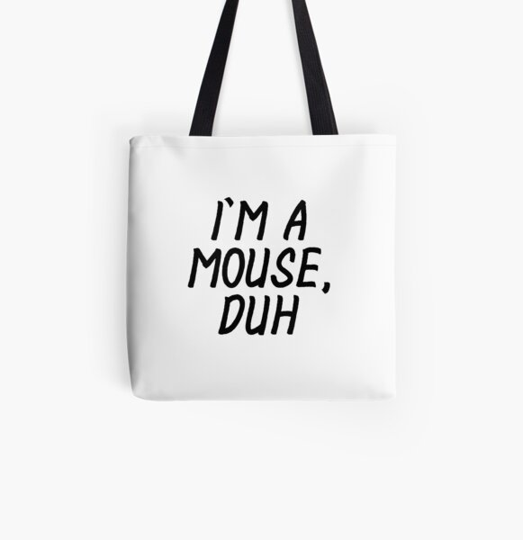 WEAR,BAG I HAVE NOTHING TO WEAR COTTON TOTE FASHION MEAN GIRLS HIPSTER SWAG