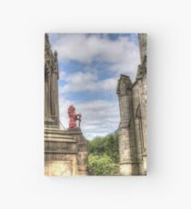 Outlander location - the Bruce Fountain , Falkland Hardcover Journal