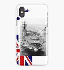 R21, HMAS Melbourne, 1977. iPhone Case/Skin
