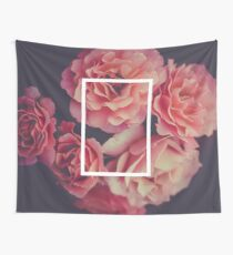 The 1975 Floral Rectangle Wall Tapestry