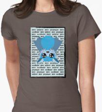 Battie Blue - more gorgeouser Women's Fitted T-Shirt