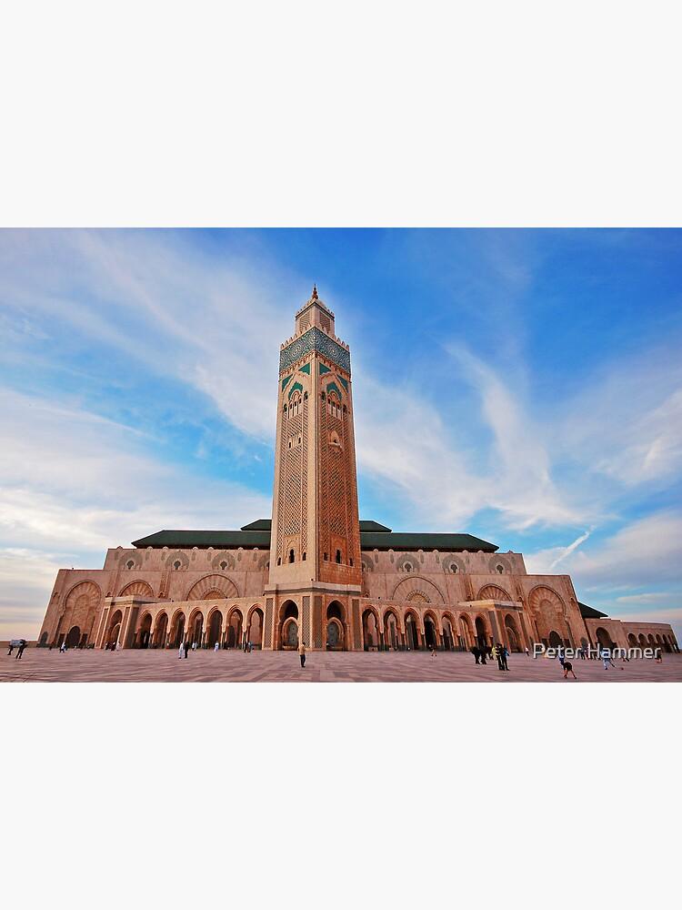 Hassan  II Mosque by PeterH