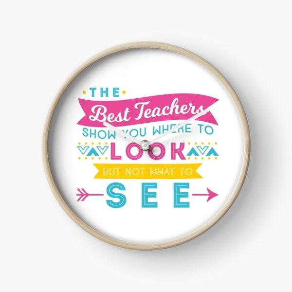 The Best Teachers... Clock