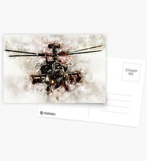 Apache Longbow - Painting Postcards