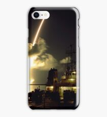 Rocket Liftoff Timelapse Light Trail iPhone Case/Skin