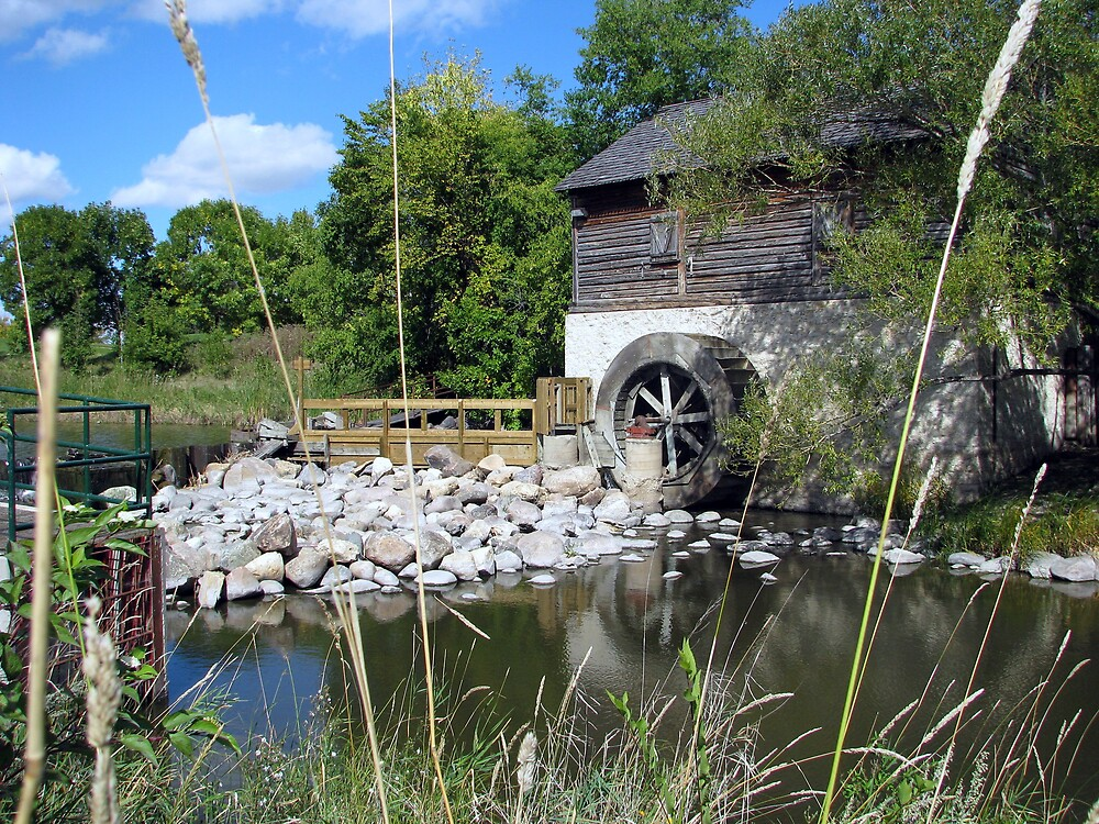 Grants Old Mill - Winnipeg by Robert Jenner