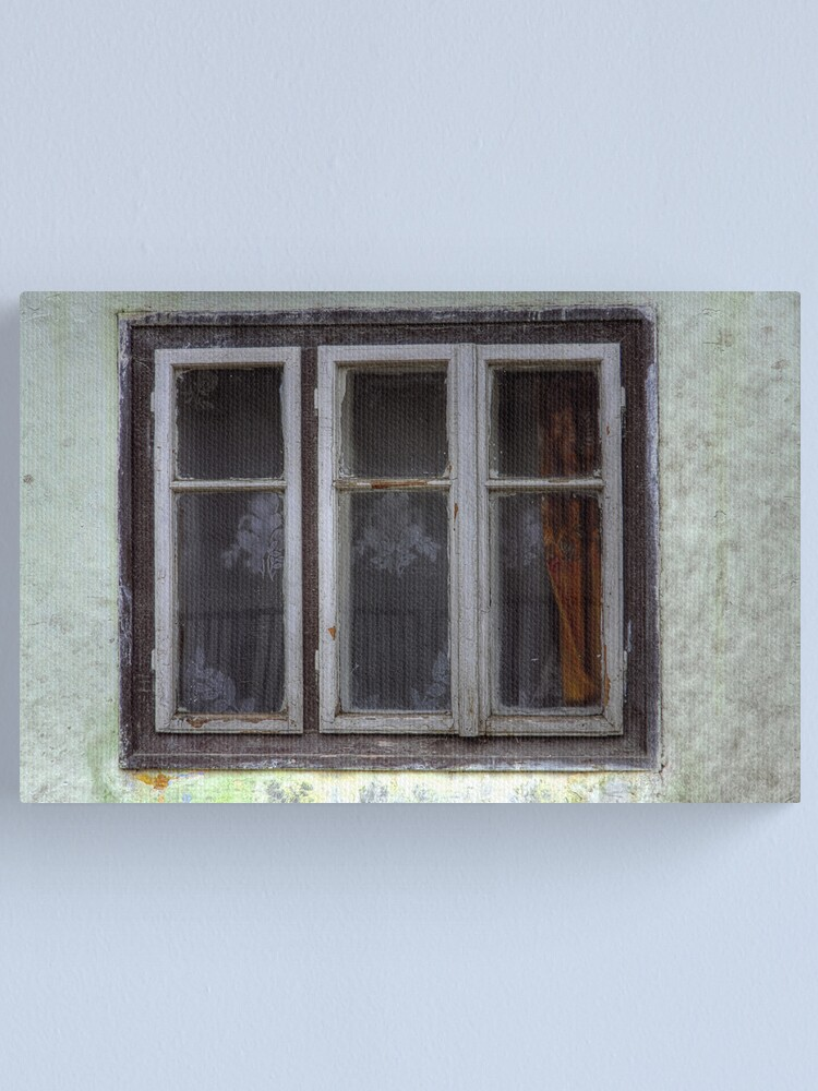 Alternate view of Orange Curtain Canvas Print