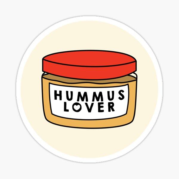 Hummus Lover Sticker