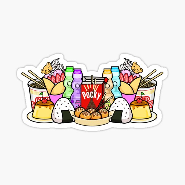 Japan Snack Overload Sticker